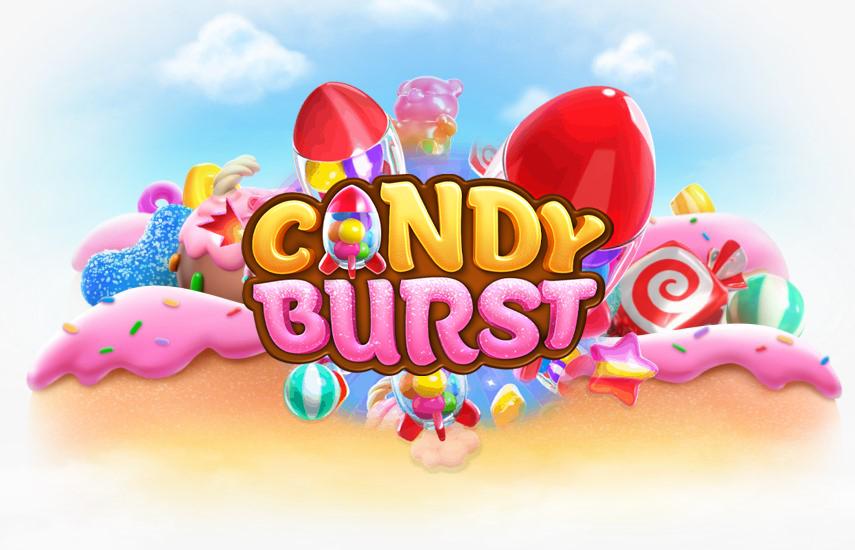 Candy Burst  เกมสล็อตออนไลน์ ที่มีธีมน่ารักสดใส ที่มาจากค่ายดังอย่าง PG Slot